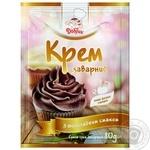 Cream Dobryk chocolate with cream scalded for desserts 80g