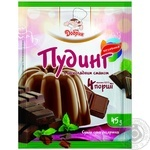 Pudding Dobryk with chocolate for desserts 40g