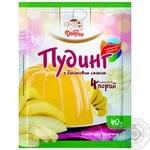Pudding Dobryk banana for desserts 40g