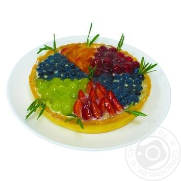 Корзинка песочная с фруктами - купить, цены на МегаМаркет - фото 1