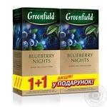 Чай чорний Greenfield Чорниця 1+1 25шт