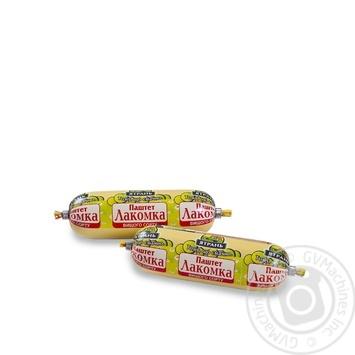 Паштет Ятрань Лакомка 125г - купить, цены на Фуршет - фото 1