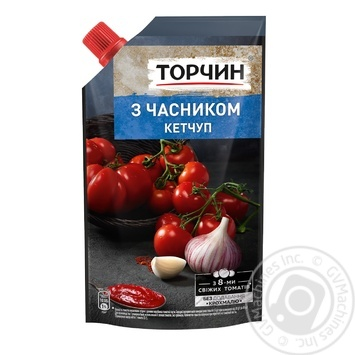 Torchin with garlic ketchup 270g