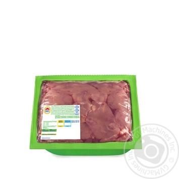 Печень Наша ряба цыпленка-бройлера охлаждённая вакуумная упаковка 650г