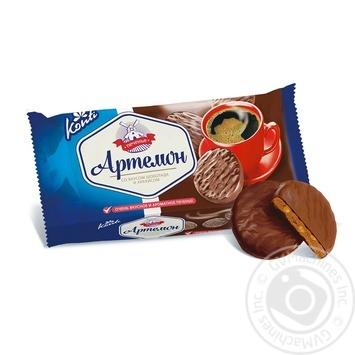 Печенье Конти Артемон в шоколадной глазури 270г
