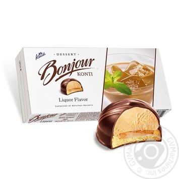 Десерт Konti Bonjour ликер 232г