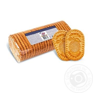 Печенье Конти Сеня сахарное с апельсином 380г