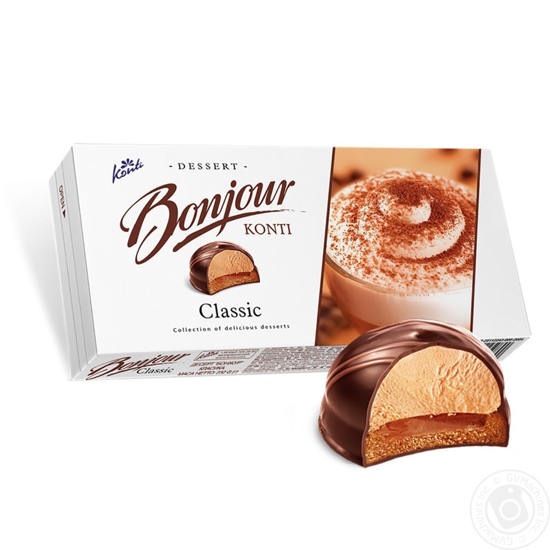 десерт Konti Bonjour класика 232г