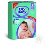 Diaper Evy baby for children 5-9kg 68pcs