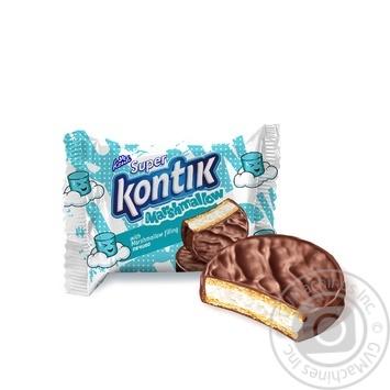 Konti Super Kontik with marshmallow filling cookies 30g