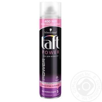 Лак для волосся Taft Ніжність кашеміру 400мл - купити, ціни на Ашан - фото 1
