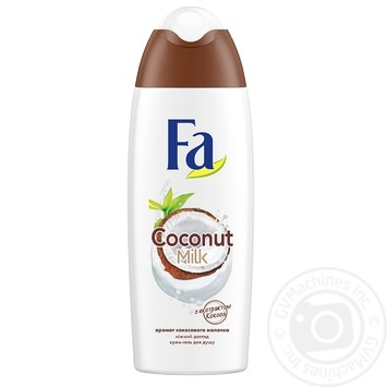 Гель для душу Fa Coconut Milk 250мл - купити, ціни на Novus - фото 2