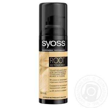 Тонуючий спрей Syoss для блонд відтінків 120мл