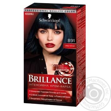 Краска для волос Brillance 891 Иссиня-черный 142,5мл
