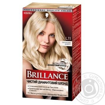 Краска для волос Brillance L11 Платиновый бриллиант 175мл