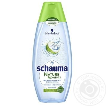 Schauma Nature Moments Coconut Water And Lotus Flower Hair Shampoo 400ml