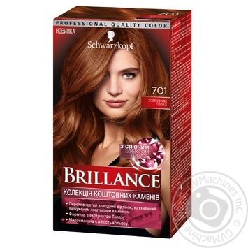 Краска для волос Brillance 701 Холодный Топаз 142,5мл