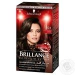 Cream-paint Brillance chocolate for hair 142.5мл
