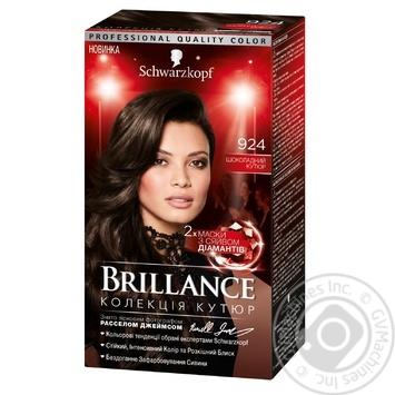 Фарба для волосся Brillance 924 Шоколадний кутюр 142,5мл - купити, ціни на Novus - фото 1