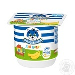 Prostokvashyno for children with banana cottage cheese  3.4% 100g