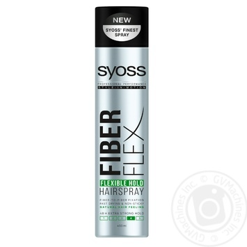SYOSS Flexi Hold Hairspray 400ml