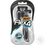 BIC Flex 4 for shaving razor 3pcs
