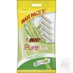 BIC Pure 3 lady Razor Female 8pcs