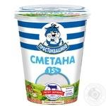 Prostokvasyno Sour Cream 15% 355g