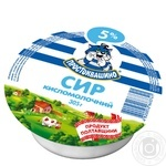 Cottage cheese Prostokvashino 5% 305g
