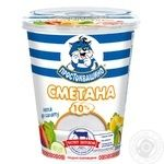Prostokvasyno Sour Cream 10% 350g