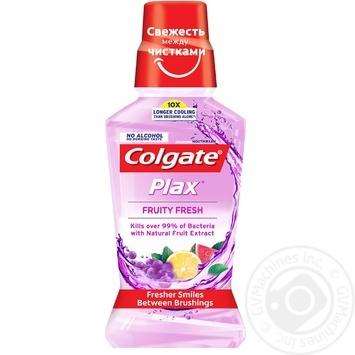 Ополіскувач порожнини рота Colgate Plax Фруктова Свіжість антибактеріальний 250мл - купити, ціни на Varus - фото 2
