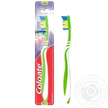 Зубная щетка Colgate Зиг Заг Плюс средней жесткости в ассортименте - купить, цены на Таврия В - фото 3