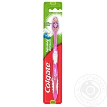 Зубная щетка Colgate Премьер Отбеливание средней жесткости - купить, цены на Таврия В - фото 3