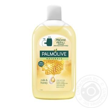 Жидкое мыло Palmolive Натурель Питание с медом и увлажняющим молочком 300мл - купить, цены на Novus - фото 2