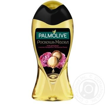 Гель для душа Palmolive Роскошь масел Макадамии и пионы 250мл
