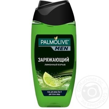 Гель для душу Palmolive MEN Заряджаючий Лимонний вибух чоловічий 2в1 для тіла і обличчя 250мл - купити, ціни на Novus - фото 3