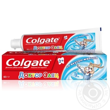 Colgate Doctor Rabbit Toothpaste for kids  with bubble gum flavour 50ml - buy, prices for Novus - image 7