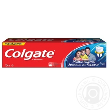 Colgate With Fluoride And Calcium Toothpaste - buy, prices for Novus - image 1