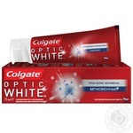 Зубная паста Colgate Optic White Мгновенный отбеливающая  75мл - купить, цены на МегаМаркет - фото 3