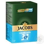 Jacobs Caramel Latte 3in1 instant coffee 24*12.3g