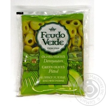 olive Feudo verde green canned 170g - buy, prices for Novus - image 1