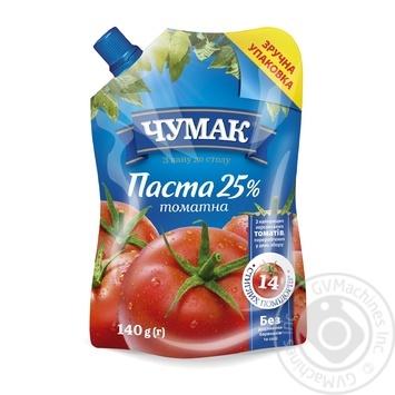 Паста томатная Чумак 25% 140г