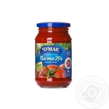 Паста томатна Чумак 25% 350г - купити, ціни на МегаМаркет - фото 1