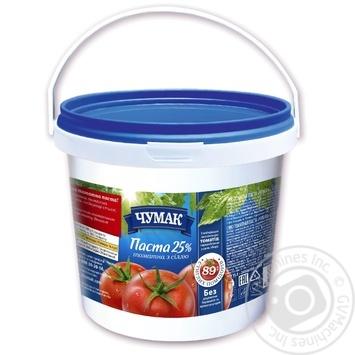 Паста томатная Чумак с солью 25% 1кг