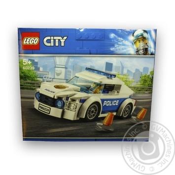 Конструктор Lego Полицейское патрульное авто 60239 - купить, цены на Ашан - фото 2