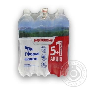 Вода Моршинська 1,5 л негазована Акція 5+1 вигідніше пет