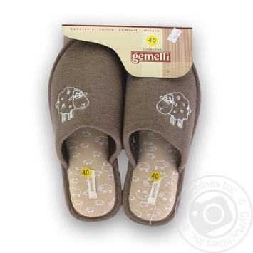 Взуття дом. жін.  МІРКА Gemelli, р.36-40 - купить, цены на Novus - фото 1
