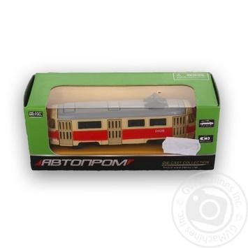 Іграшка Автопром Автобус Ікарус 1:64 метал в асортименті - купити, ціни на Ашан - фото 4
