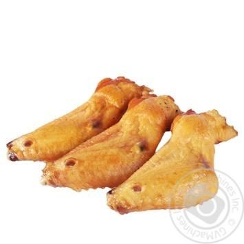 Крылья куриные варено-копченые - купить, цены на Novus - фото 1