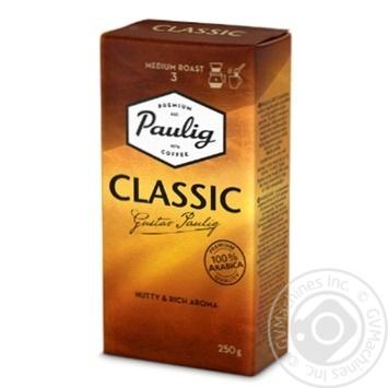 Кофе Paulig Classic молотый среднеобжаренный 250г